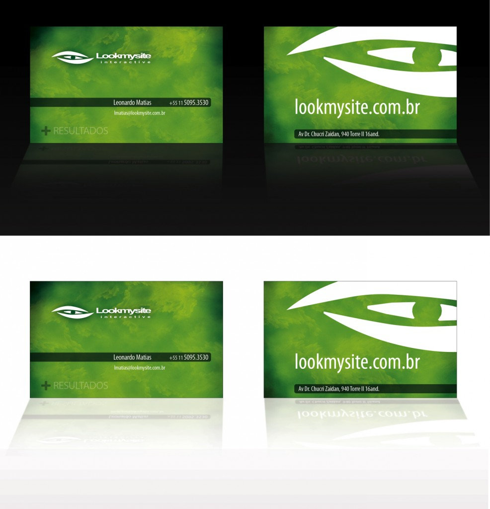 Business Card Lookmysite
