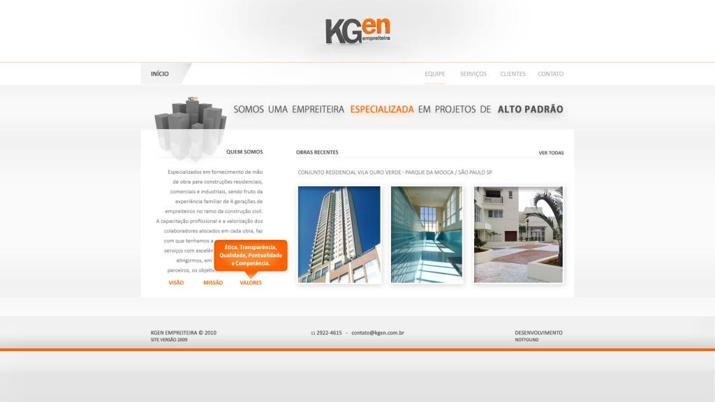 KGen Construções 2010