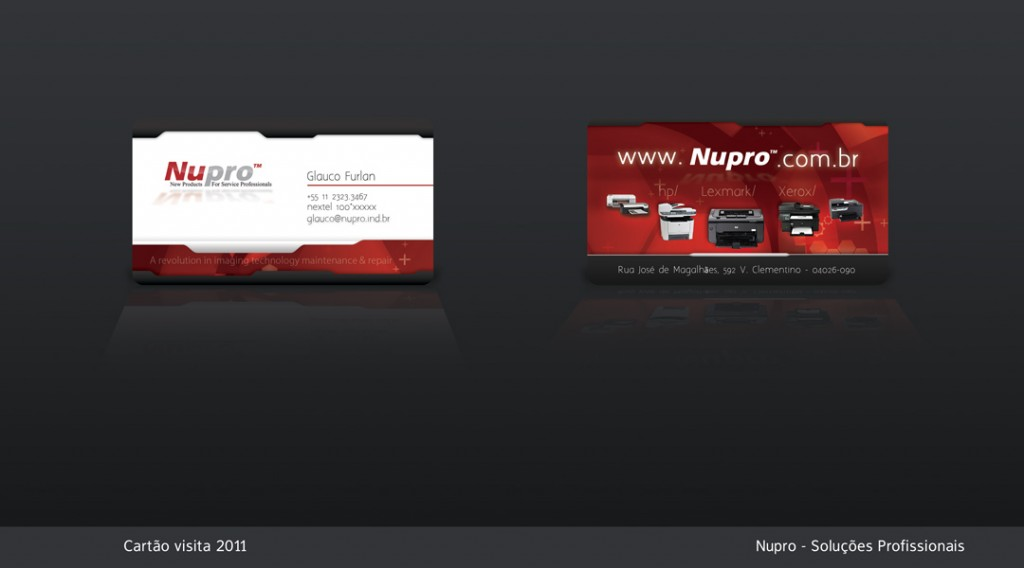 Business Card - Nupro