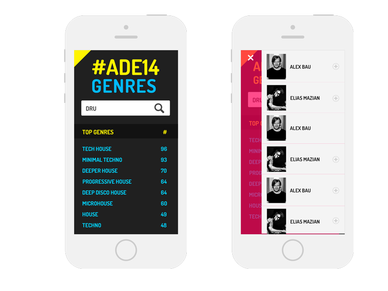 ADE14 Genres